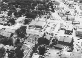 Aerial of Library Photo