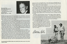 William Holden Brochure