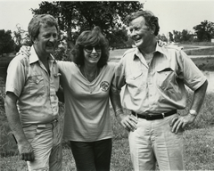 Don, Michael & Stefanie Powers