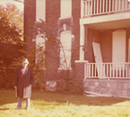 David Campbell House with Maurice Cole Photo