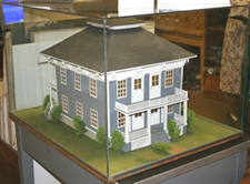 Welcome Campbell House Model at Museum Photo