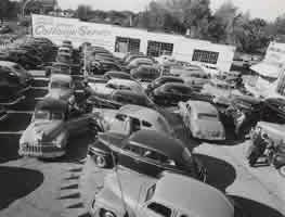 Hodge's used car lot