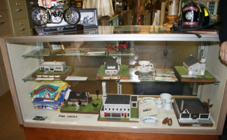 Ferndale Historical Museum showcase with clickable image links Photo