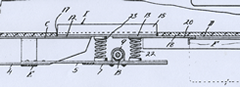 Patent design for rear Coil Springs