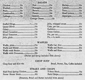 Rodgers Dutch Mill Menu Photo