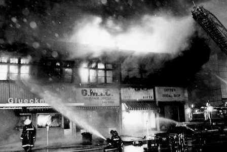 Fire on Nine Mile building Photo