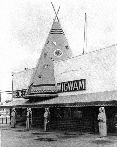 Hedge's Wigwam exterior building Photo